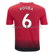 Voetbalshirts Clubs Manchester United 2018-19 Paul Pogba 6 Thuisshirt