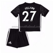 Voetbaltenue Kind Manchester United 2017-18 Fellaini 27 Uitshirt..