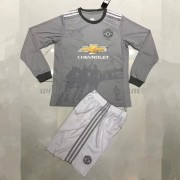 Voetbaltenue Kind Manchester United 2017-18 Third Shirt Lange Mouw..