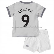 Voetbaltenue Kind Manchester United 2017-18 Romelu Lukaku 9 Third Shirt..