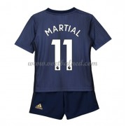 Voetbaltenue Kind Manchester United 2018-19 Anthony Martial 11 Third Shirt..