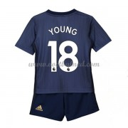 Voetbaltenue Kind Manchester United 2018-19 Ashley Young 18 Third Shirt..