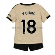 Voetbaltenue Kind Manchester United 2019-20 Ashley Young 18 Uitshirt..