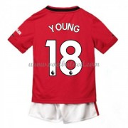 Voetbaltenue Kind Manchester United 2019-20 Ashley Young 18 Thuisshirt..