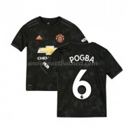 Voetbaltenue Kind Manchester United 2019-20 Paul Pogba 6 Third Shirt