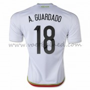 Voetbaltenue Mexico Nationale Elftal 2016 Andres Guardado 18 Uitshirt..