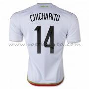 Voetbaltenue Mexico Nationale Elftal 2016 Chicharito 14 Uitshirt..