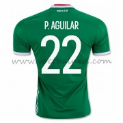 Voetbaltenue Mexico Nationale Elftal 2016 Paul Aguilar 22 Thuisshirt..