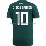Voetbalshirts Mexico WK 2018 Giovani dos Santos 10 Thuisshirt..