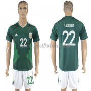 Voetbalshirts Mexico WK 2018 Paul Aguilar 22 Thuisshirt..