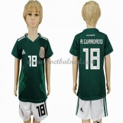 Voetbaltenue Kind Mexico 2018 Andres Guardado 18 Thuisshirt..