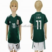 Voetbaltenue Kind Mexico 2018 Carlos Vela 11 Thuisshirt..
