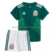 Voetbaltenue Kind Mexico 2018 Thuisshirt..