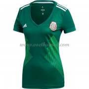 Goedkope Voetbalshirts Dames Mexico 2018 Thuisshirt..