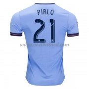 Voetbalshirts Clubs New York City 2017-18 Andrea Pirlo 21 Thuisshirt..