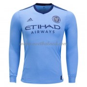 Voetbalshirts Clubs New York City 2017-18 Thuisshirt Lange Mouw..