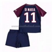 Voetbaltenue Kind Paris Saint Germain PSG 2017-18 Di Maria 11 Thuisshirt..