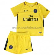 Voetbaltenue Kind Paris Saint Germain PSG 2017-18 Uitshirt..