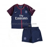 Voetbaltenue Kind Paris Saint Germain PSG 2017-18 Thuisshirt