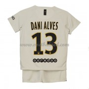 Voetbaltenue Kind Paris Saint Germain PSG 2018-19 Dani Alves 32 Uitshirt..