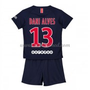 Voetbaltenue Kind Paris Saint Germain PSG 2018-19 Dani Alves 32 Thuisshirt..