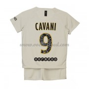 Voetbaltenue Kind Paris Saint Germain PSG 2018-19 Edinson Cavani 9 Uitshirt..