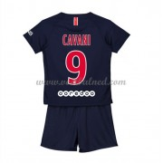 Voetbaltenue Kind Paris Saint Germain PSG 2018-19 Edinson Cavani 9 Thuisshirt..