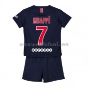 Voetbaltenue Kind Paris Saint Germain PSG 2018-19 Kylian Mbappé 7 Thuisshirt