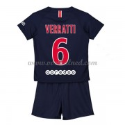 Voetbaltenue Kind Paris Saint Germain PSG 2018-19 Marco Verratti 6 Thuisshirt..