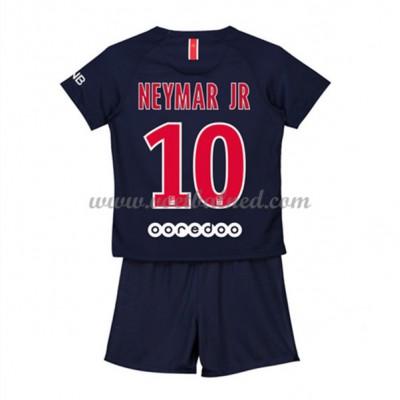 Voetbaltenue Kind Paris Saint Germain PSG 2018-19 Neymar Jr 10 Thuisshirt