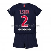 Voetbaltenue Kind Paris Saint Germain PSG 2018-19 T. Silva 2 Thuisshirt..