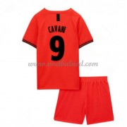 Voetbaltenue Kind Paris Saint Germain PSG 2019-20 Edinson Cavani 9 Uitshirt