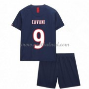 Voetbaltenue Kind Paris Saint Germain PSG 2019-20 Edinson Cavani 9 Thuisshirt