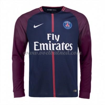Voetbalshirts Clubs Paris Saint Germain Psg 2017-18 Thuisshirt Lange Mouw