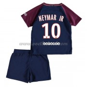 Voetbaltenue Kind Paris Saint Germain Psg 2017-18 Neymar Jr 10 Thuisshirt..
