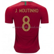 Voetbaltenue Portugal 2018 Joao Moutinho 8 Thuisshirt..