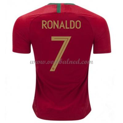 Voetbalshirts Portugal WK 2018 Cristiano Ronaldo 7 Thuisshirt