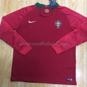 Voetbaltenue Kind Portugal 2018 Thuisshirt Lange Mouw..
