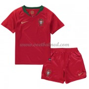 Voetbaltenue Kind Portugal 2018 Thuisshirt