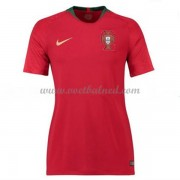 Goedkope Voetbalshirts Dames Portugal 2018 Thuisshirt..
