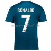 Voetbalshirts Clubs Real Madrid 2017-18 Cristiano Ronaldo 7 Third Shirt..
