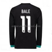 Voetbalshirts Clubs Real Madrid 2017-18 Gareth Bale 11 Uitshirt Lange Mouw..