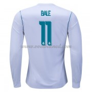 Voetbalshirts Clubs Real Madrid 2017-18 Gareth Bale 11 Thuisshirt Lange Mouw..