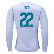 Voetbalshirts Clubs Real Madrid 2017-18 Isco 22 Thuisshirt Lange Mouw..
