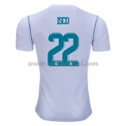 Voetbalshirts Clubs Real Madrid 2017-18 Isco 22 Thuisshirt..