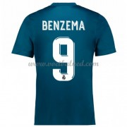 Voetbalshirts Clubs Real Madrid 2017-18 Karim Benzema 9 Third Shirt..