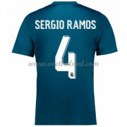 Voetbalshirts Clubs Real Madrid 2017-18 Sergio Ramos 4 Third Shirt..