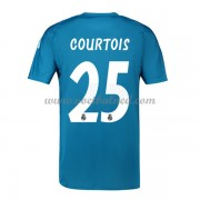 Voetbalshirts Clubs Real Madrid 2018-19 Thibaut Courtois 25 Keeper Uitshirt