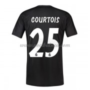 Voetbalshirts Clubs Real Madrid 2018-19 Thibaut Courtois 25 Keeper Thuisshirt