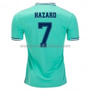 Voetbalshirts Clubs Real Madrid 2019-20 Eden Hazard 7 Third Shirt